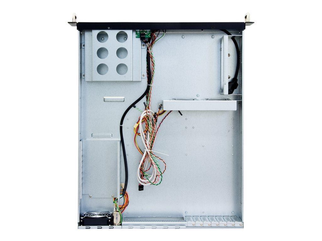 CHIEFTEC UNC-210T 2U case black no PSU