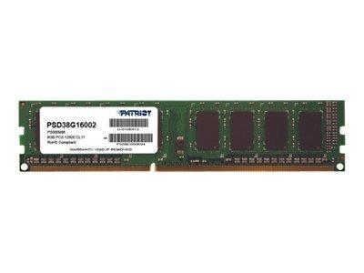 PATRIOT DDR3 SL 8GB 1600MHZ UDIMM
