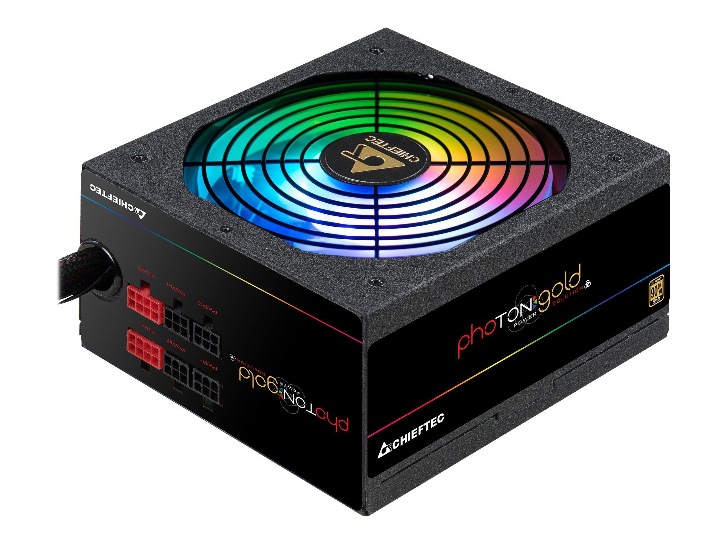 CHIEFTEC Photon RGB 650W ATX 12V 90 proc