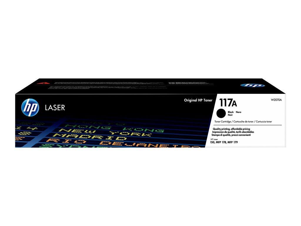 HP 117A Black Laser Toner Cartridge