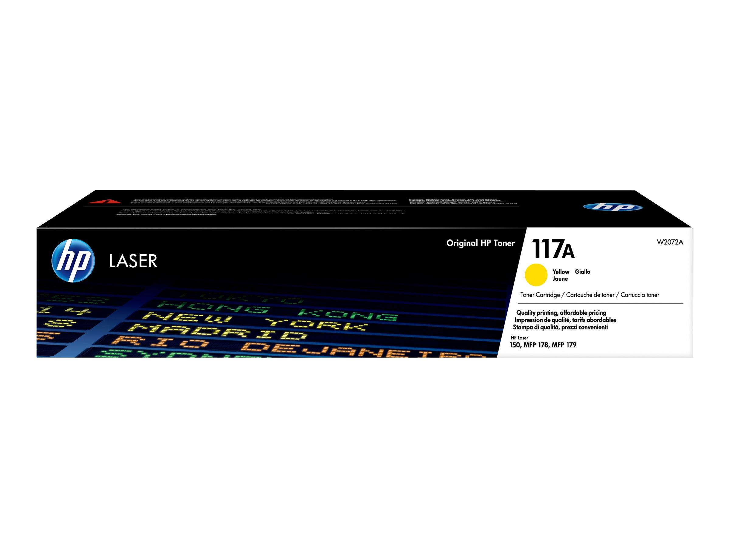 HP 117A Yellow Laser Toner Cartridge