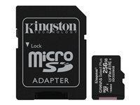 KINGSTON 256GB micSDXC Canvas Select Plu