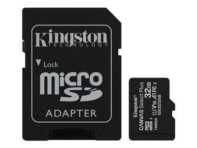 KINGSTON 32GB micSDHC Canvas Select Plus