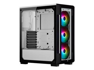 CORSAIR iCUE 220T RGB Tempered Glass Mid