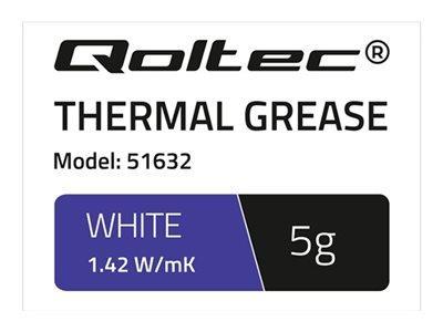 QOLTEC 51632 Qoltec Thermal paste 1.42 W