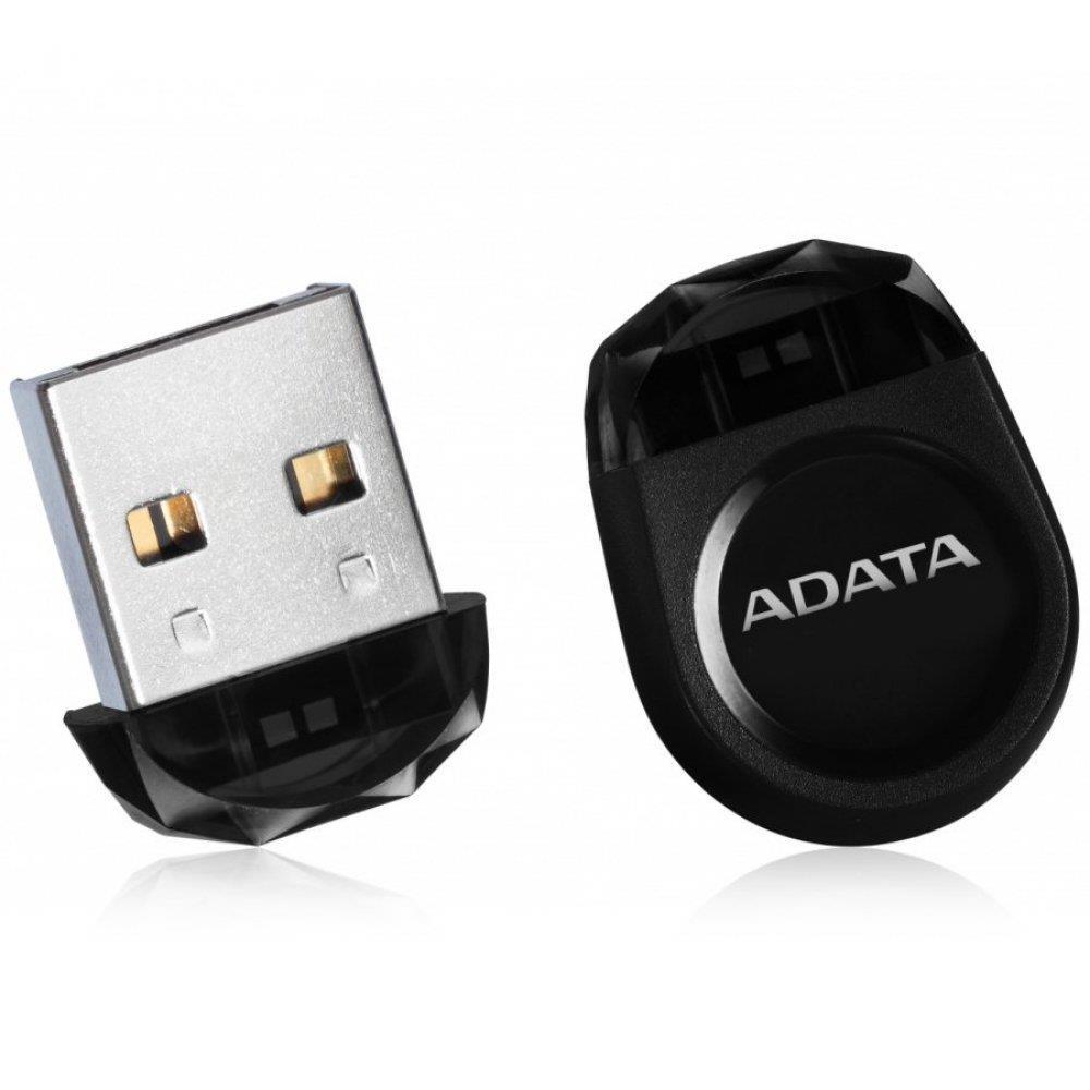 DashDrive Durable UD310 Jewel Like USB Flash Drive , 64GB , Black