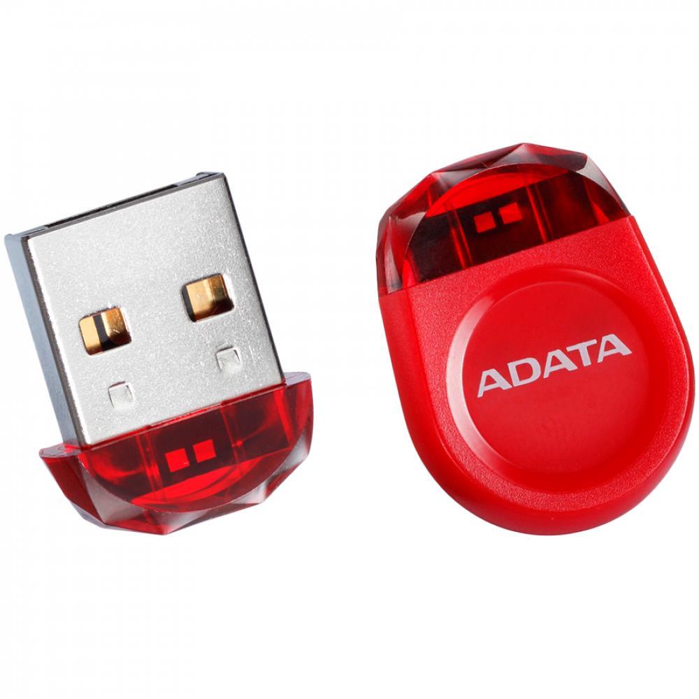 DashDrive Durable UD310 Jewel Like USB Flash Drive, 8GB , RED