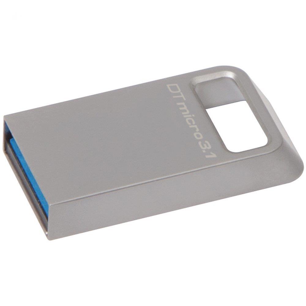Kingston 64GB DTMicro USB 3.1/3.0 Type-A metal ultra-compact drive EAN: 740617242874
