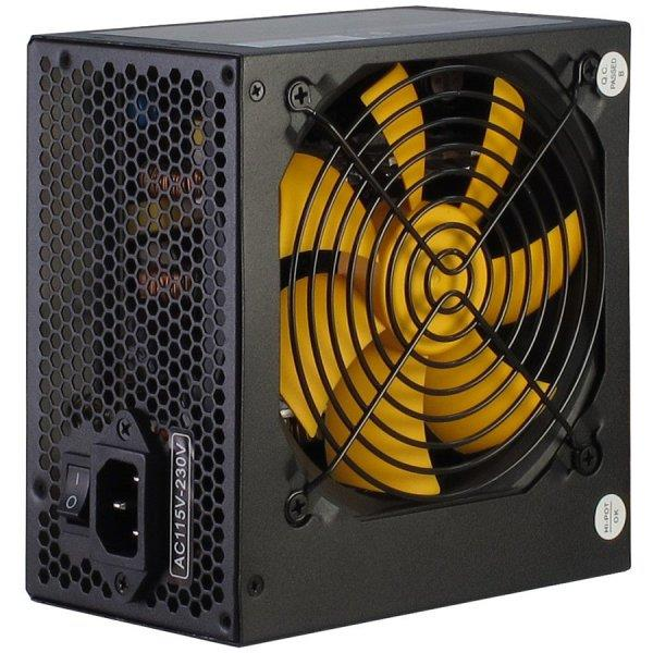 Power Supply INTER-TECH Argus APS 620W, efficiency 86.3%, dual rail (30A/30A),  120 mm silent fan with automatic control, 1x6+2pinPCIE, 4xSATA, 4xMolex, 1xFloppy, 1x4+4pinEPS12V, Active PFC, OVP/SCP/OPP/UVP/OS protection