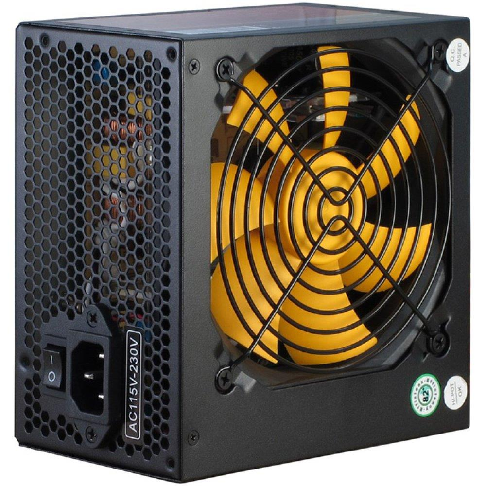 Power Supply INTER-TECH Argus APS 720W, efficiency 89.1%, dual rail (30A/30A),  120 mm silent fan with automatic control, 2x6+2pinPCIE, 4xSATA, 4xMolex, 1xFloppy, 1x4+4pinEPS12V, Active PFC, OVP/SCP/OPP/UVP/OS protection