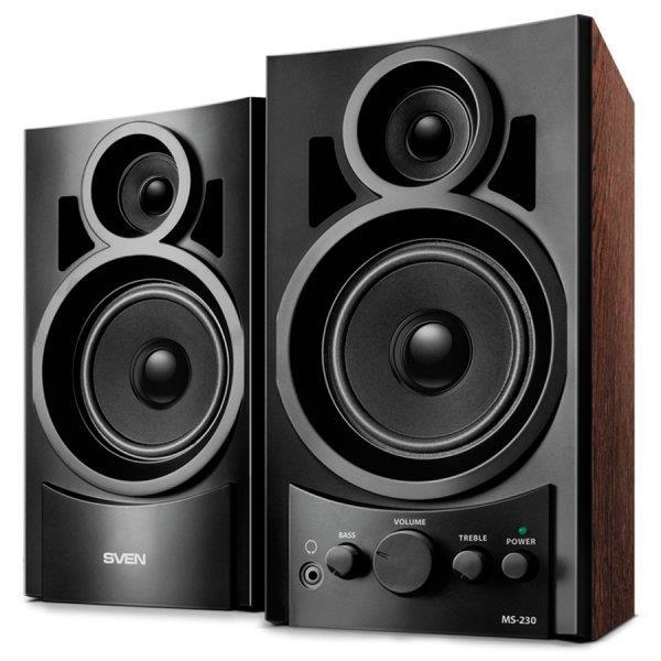 Speakers SVEN MS-230, black (10W), SV-006266