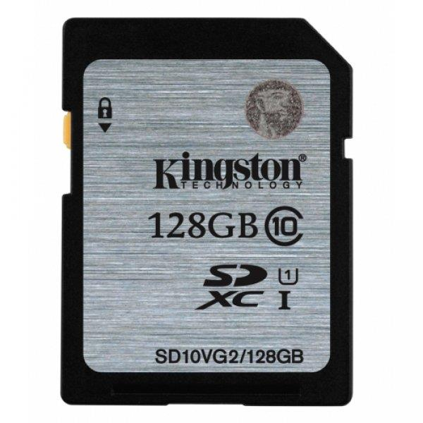 Kingston  128GB SDXC Class10 UHS-I 45MB/s Read Flash Card, EAN: '740617243567