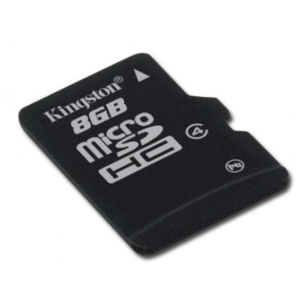 Kingston 32GB microSDHC Class 4 Flash Card Single Pack w/o Adapter EAN: 740617175028