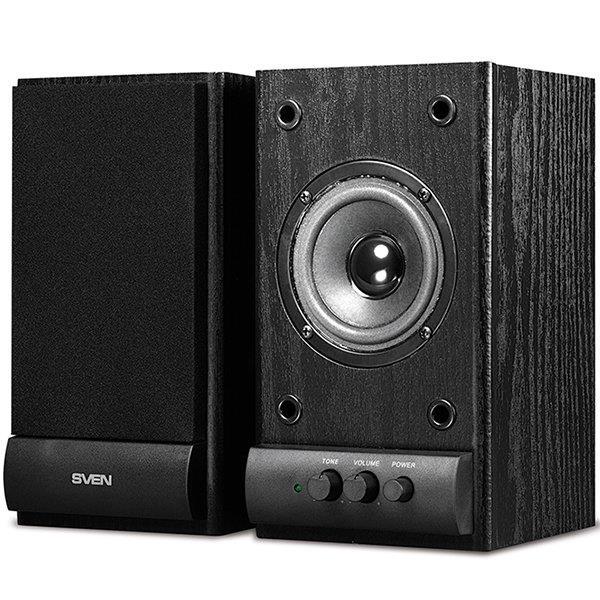 Speakers SVEN SPS-607, black (6W)