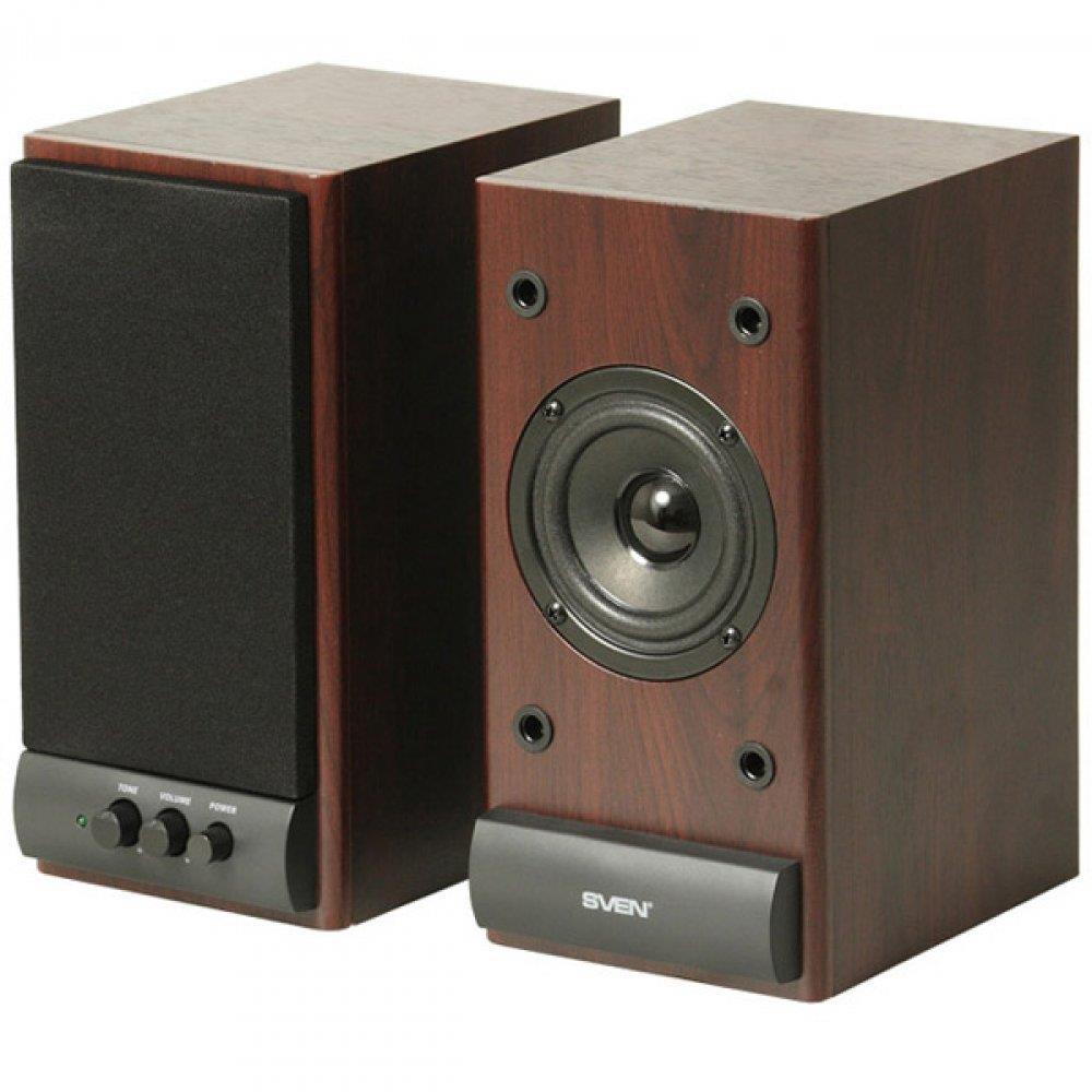 Multimedia - Speaker SVEN SPS-609 (Stereo, 10W, 70Hz-18kHz, Cherry), SV-0120609CH