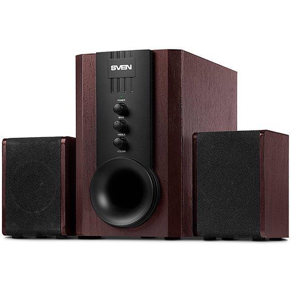 Speakers SVEN SPS-821, dark wooden/black (40W), SV-0130821DW