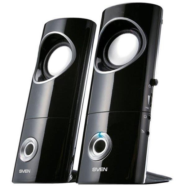 Speakers SVEN 245, black (USB), SV-0110245BK