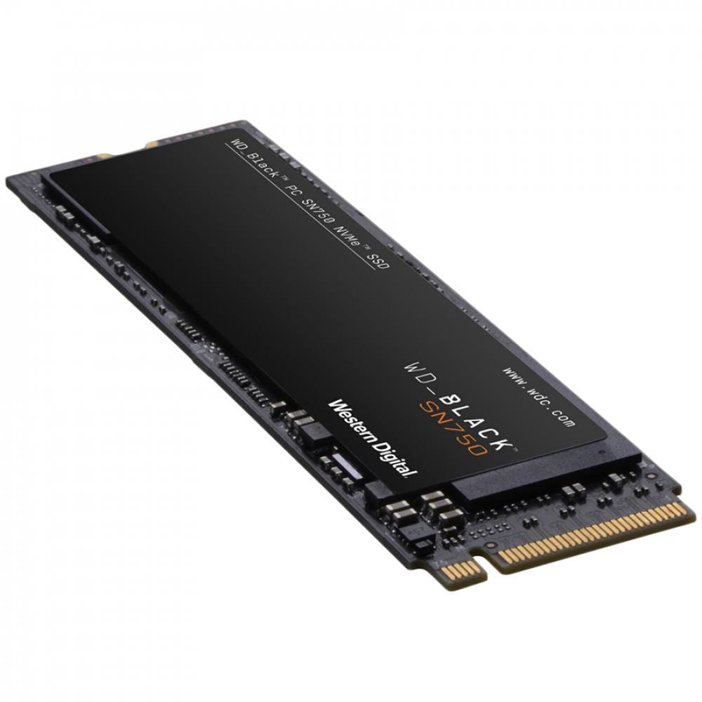 WD SSD BLACK SN750 1Tb M.2 2280 NVMe Read/Write: 3470 / 3000 MB/s, 515k/560k IOPS, TBW 600TB