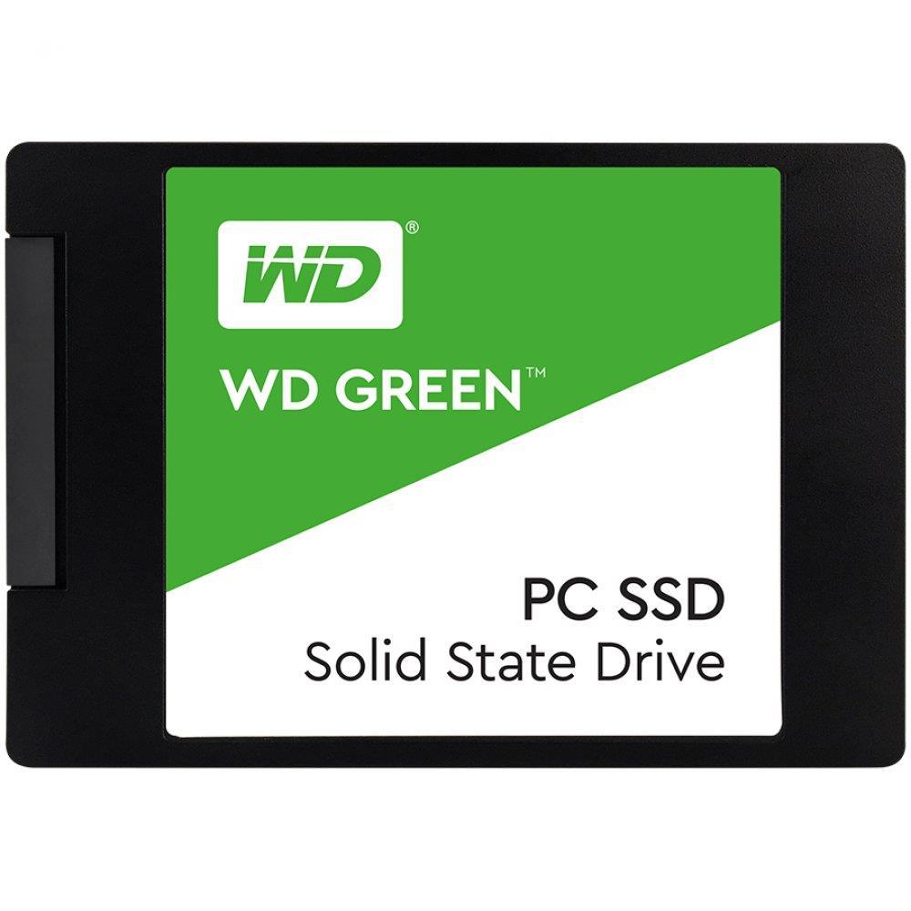 "SSD WD Green (2.5"", 480GB, SATA III 6 Gb/s)"