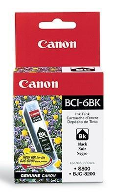 INK CARTRIDGE BLACK BCI-6BK/4705A002 CANON