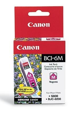 INK CARTRIDGE MAGENTA BCI-6M/4707A002 CANON