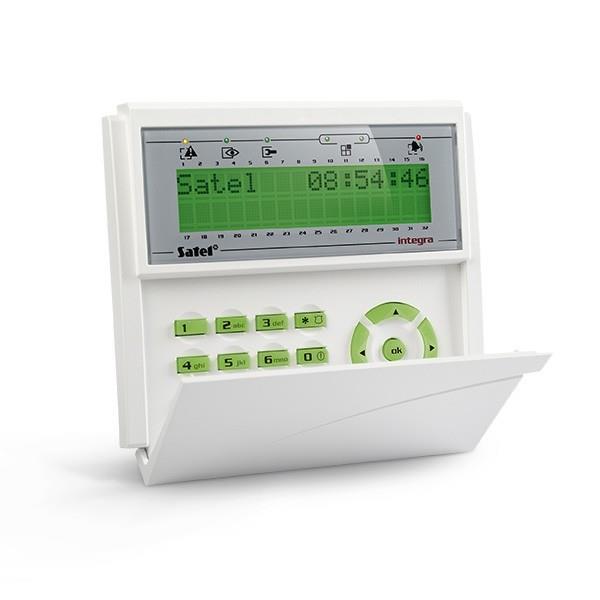 KEYPAD LCD /INTEGRA GREEN/INT-KLCD-GR SATEL