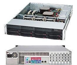 SERVER CHASSIS 2U 560W EATX/CSE-825TQ-563LPB SUPERMICRO