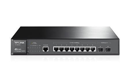 Switch TP-LINK TL-SG3210 Type L2 8x10Base-T / 100Base-TX / 1000Base-T 2xSFP TL-SG3210
