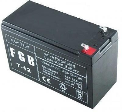 BATTERY 12V 7AH VRLA/FGB7-12 EMU