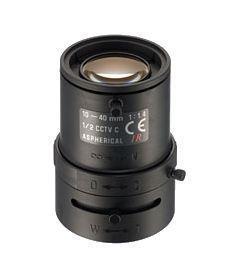 CCTV LENS STANDARD 10-40MM/M.IRIS 12VM1040ASIR TAMRON