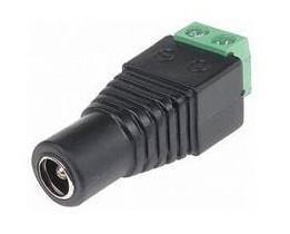 POWER CONNECTOR SOCKET-SCREW/GNIAZDODC GENWAY