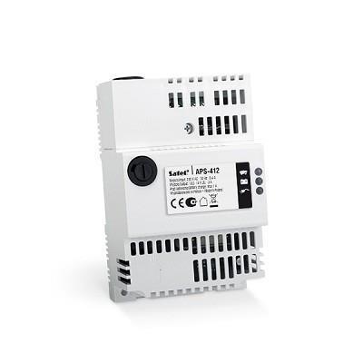 POWER SUPPLY 12VDC 4A DIN/APS-412 SATEL