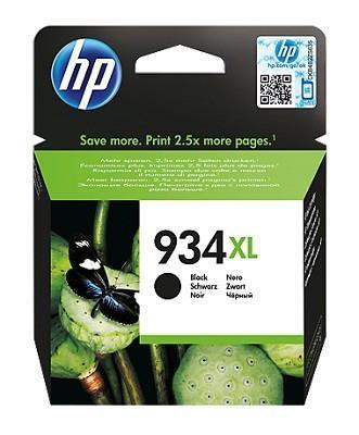 INK CARTRIDGE BLACK NO.934XL/C2P23AE HP