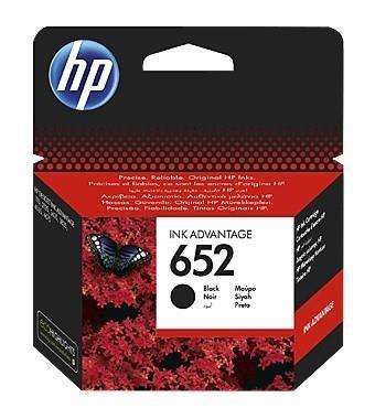 INK CARTRIDGE BLACK NO.652/F6V25AE HP