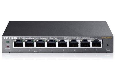 NET SWITCH 8PORT 1000M/POE TL-SG108PE TP-LINK