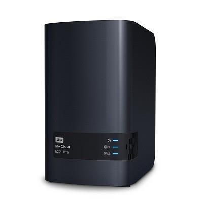 NAS STORAGE COMPACT 2BAY/8TB WDBVBZ0080JCH-EESN WDC