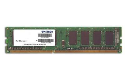MEMORY DIMM 8GB PC12800 DDR3/PSD38G16002 PATRIOT