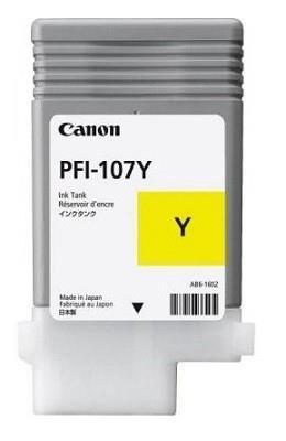 INK CARTRIDGE YELLOW PFI-107/6708B001 CANON