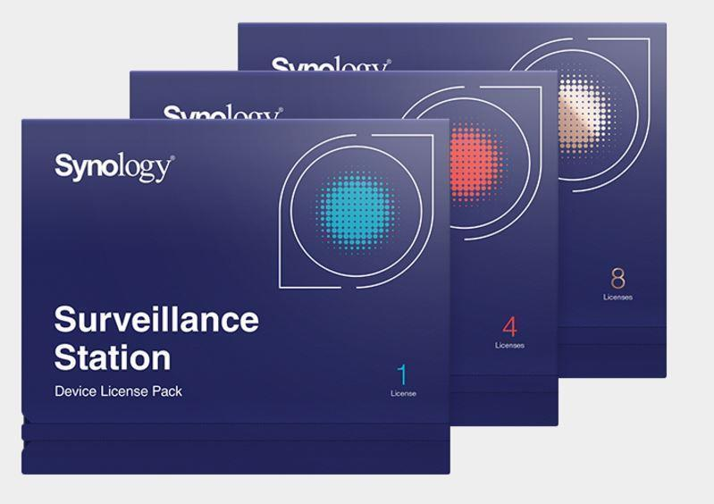 SOFTWARE LIC /SURVEILLANCE/STATION PACK8 DEVICE SYNOLOGY