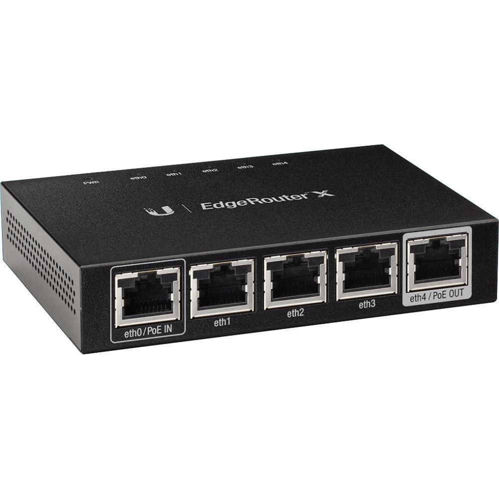 NET ROUTER 1000M 5PORT/ER-X UBIQUITI