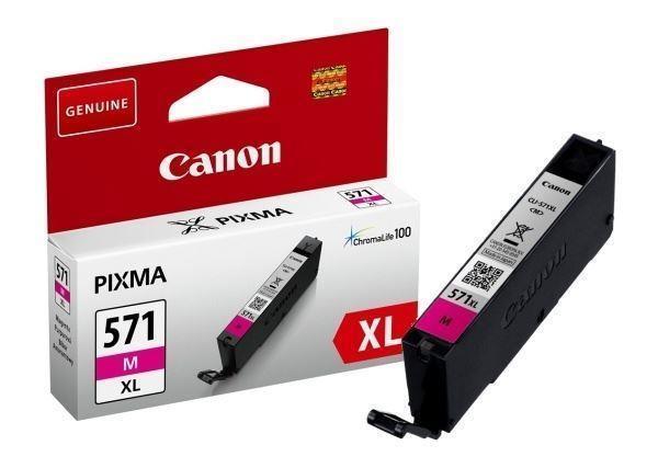 INK CARTRIDGE MAGENTA CLI-571/XL 0333C001 CANON