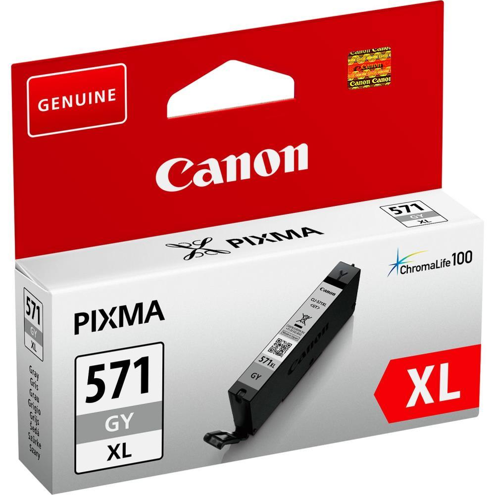INK CARTRIDGE GREY CLI-571XL/0335C001 CANON