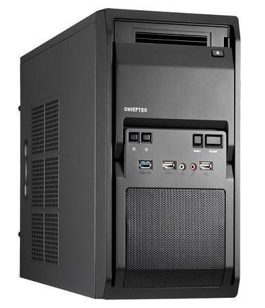 Case|CHIEFTEC|MiniTower|MicroATX|Colour Black|LT-01B-OP