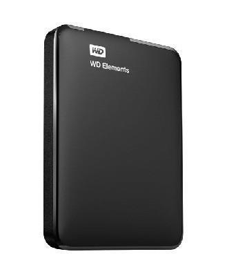 External HDD|WESTERN DIGITAL|Elements Portable|1TB|USB 3.0|Colour Black|WDBUZG0010BBK-WESN