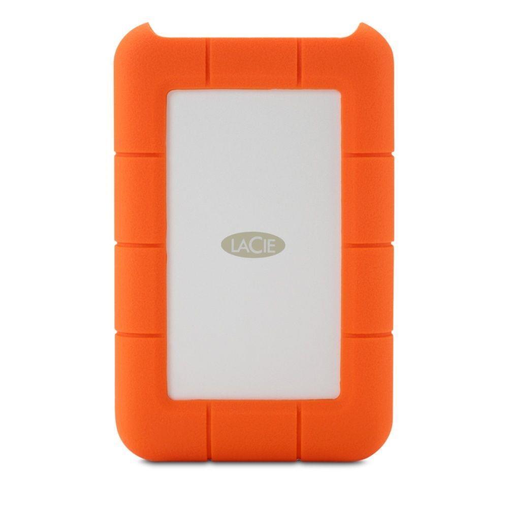 External HDD LACIE 2TB USB-C Colour Orange STFR2000800