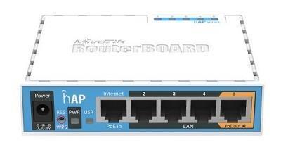 Access Point|MIKROTIK|IEEE 802.11b|IEEE 802.11g|IEEE 802.11n|1xUSB 2.0|5x10/100M|RB951UI-2ND