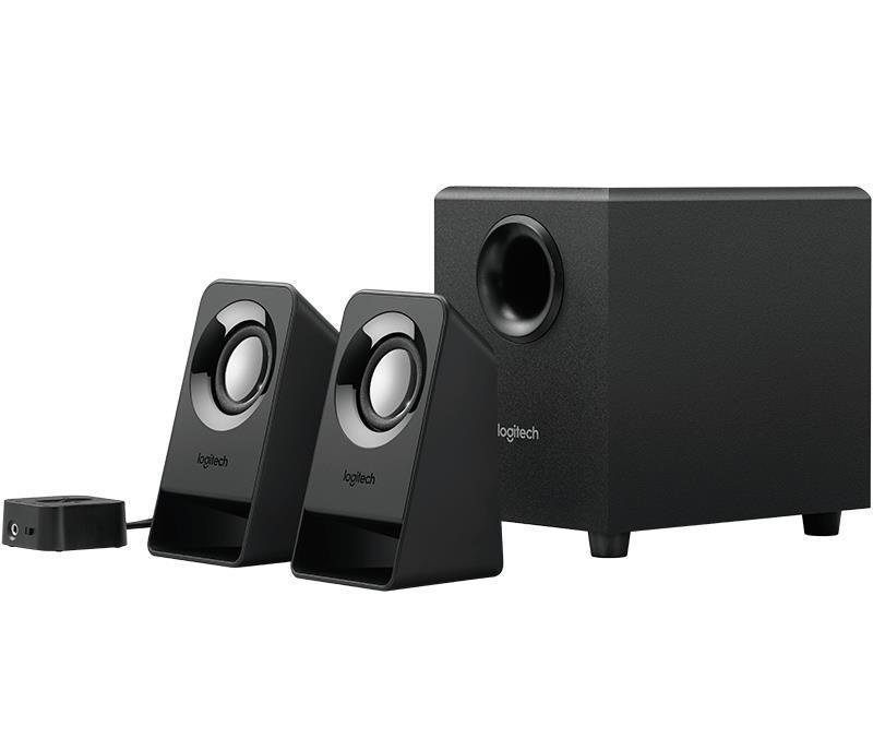 Speaker LOGITECH 1xMicrophone jack 3.5mm 1xHeadphones jack Black 980-000942