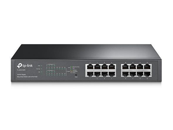 NET SWITCH 16PORT 1000M/8P POE+ TL-SG1016PE TP-LINK