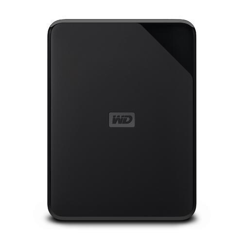 External HDD WESTERN DIGITAL Elements Portable SE 4TB USB 3.0 Colour Black WDBJRT0040BBK-WESN