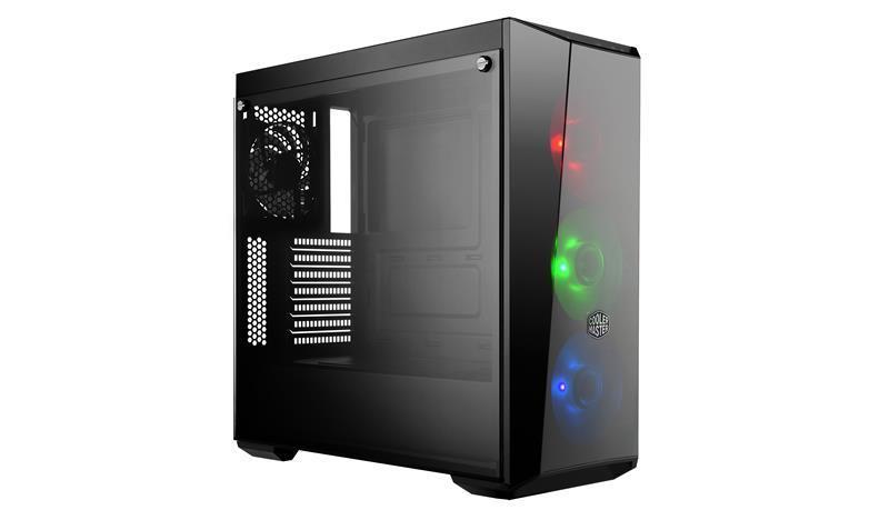 Case COOLER MASTER MasterBox Lite 5 RGB MidiTower Not included ATX MicroATX MiniITX Colour Black MCW-L5S3-KGNN-02